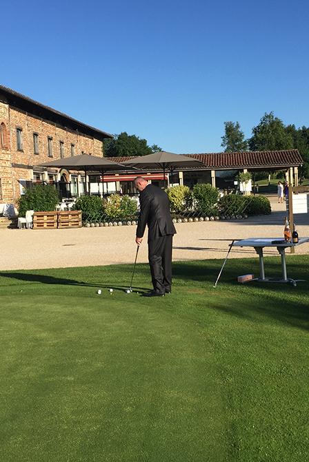 Parcours du golf à Lyon
