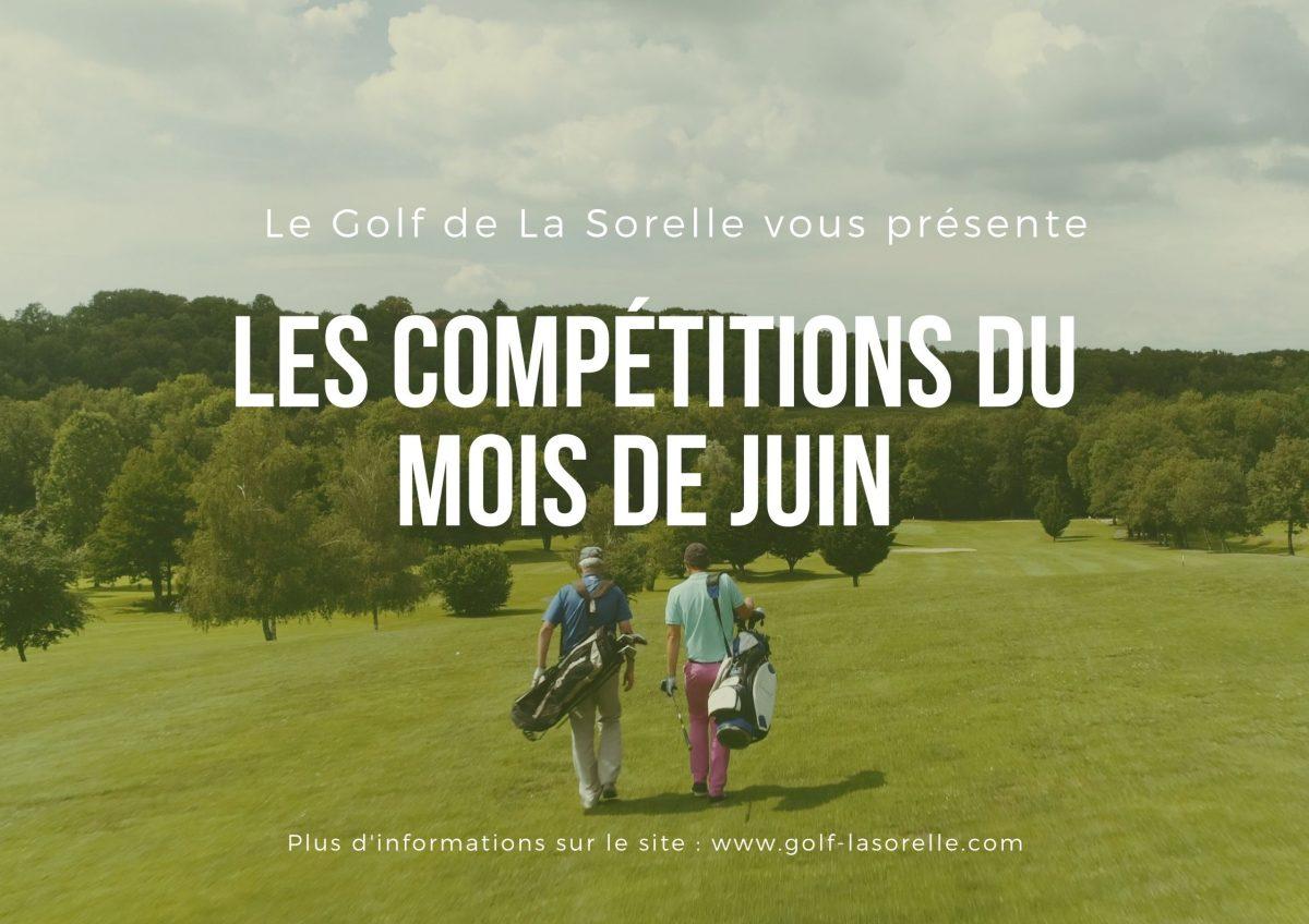 Les compétitions du mois de Juin