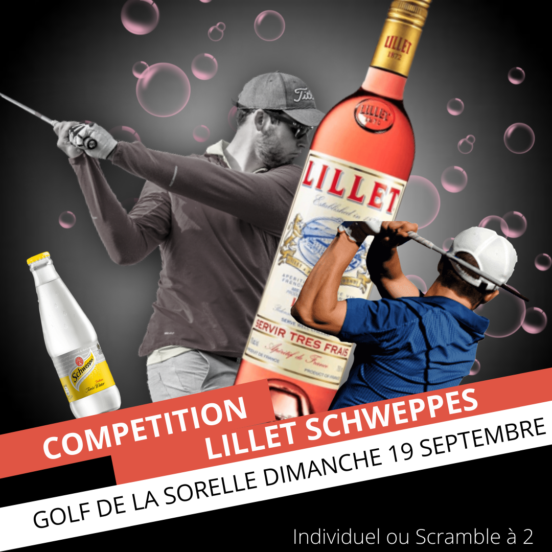 COUPE LILLET SCHWEPPES